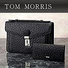 トムモリス メンズ本革手提バッグ財布セット 305735-001 オーストリッチ