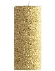 キャンドル 2?3/4 ×6  ラウンド ゴールド