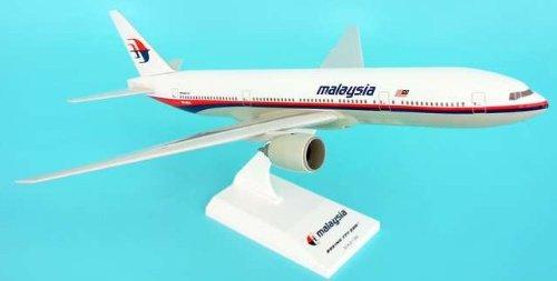 1: 200 スカイマークス Malaysian 航空 ボーイング 777-200 with Landing Gear and Spinning Engines (並行輸入)