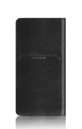 牛革製パスポートケース(ブラック)