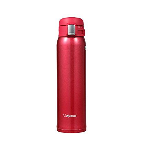 象印 水筒 直飲み ステンレスマグ600mlクリアレッド 軽量タイプ SM-SA60-RW