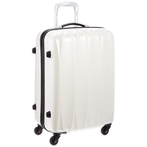 [アメリカンツーリスター] AMERICAN TOURISTER Arona Lite / アローナライト スピナー65 (65cm/52L/3.5Kg) (スーツケース・キャリーバッグ・Mサイズ・TSAロック・大容量・軽量・ファスナー・保証付き) 70R*15005 15 (ホワイト)