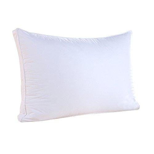枕 安眠 人気 ホテル仕様 ふわふわ 柔らかい 洗える まくら 横向き対応 43x63 cm ホワイト 高級立体構造 肩こり対策