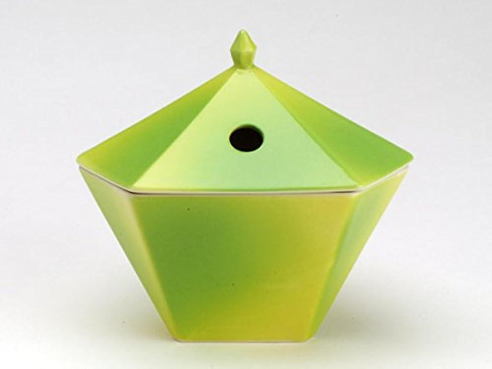 投資とても矢縁香炉 黄緑