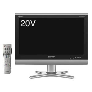 シャープ AQUOS 20V型 ハイビジョン液晶テレビ ブラック LC-20E5-B
