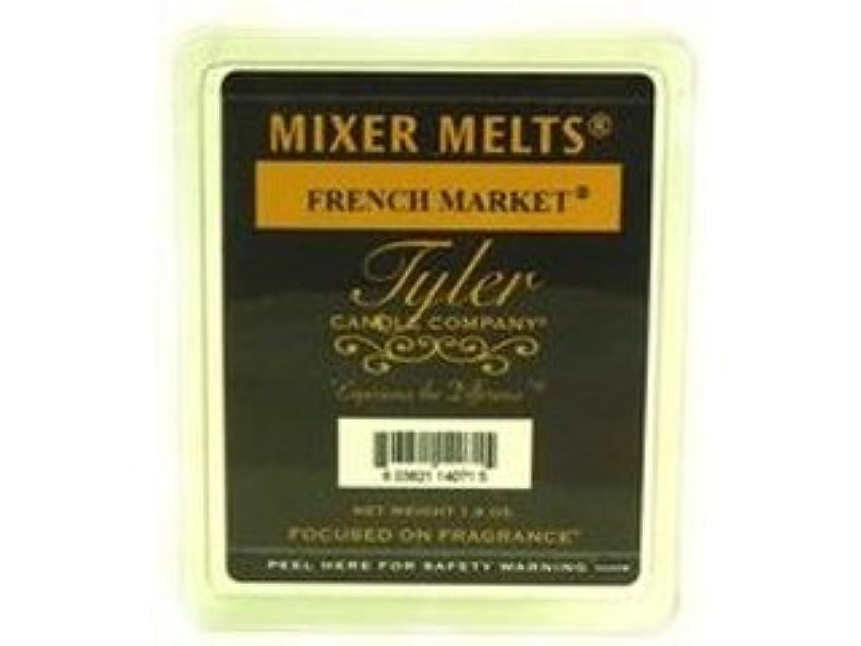 乱闘優れました誤解させるフランス市場ミキサーMelts by Tyler Candle * *セットof 3 * *