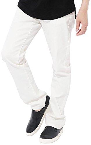 3カラー スキニーパンツ メンズ チノパンツ ストレッチ ストレート S M L XL ベストマート