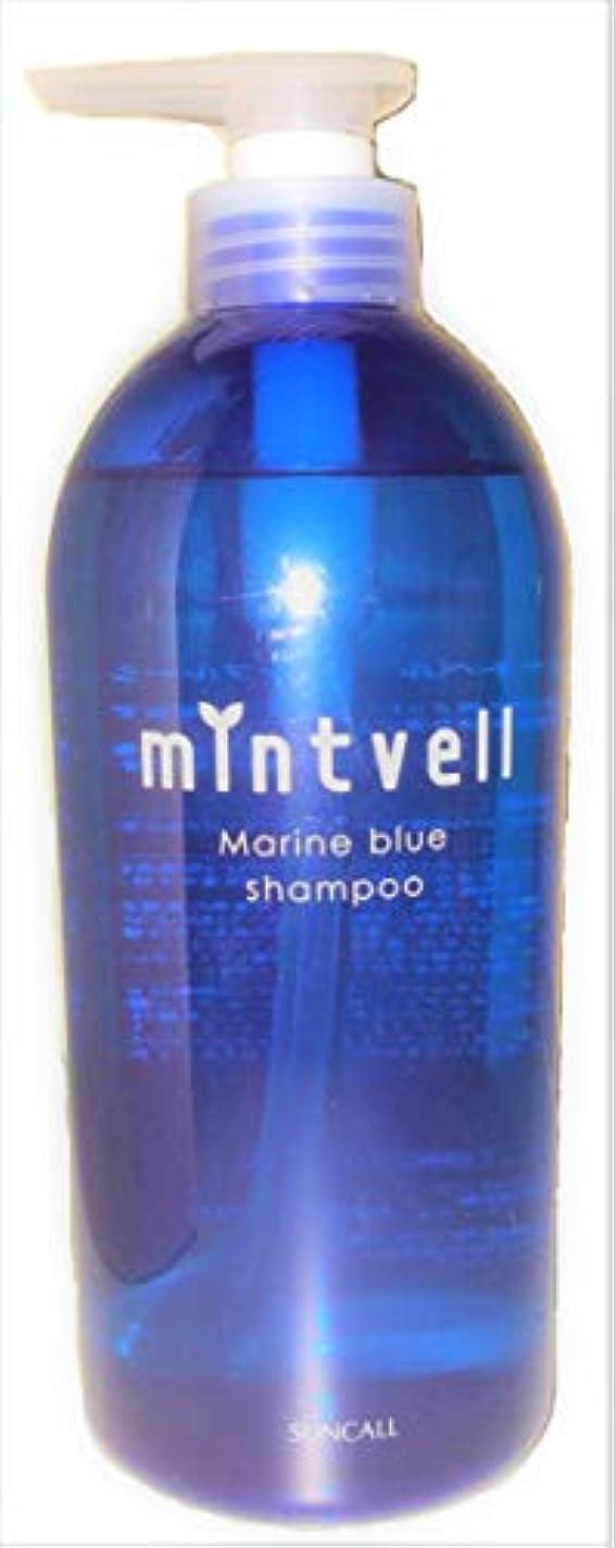 鯨不毛のパークミントベル マリンブルーシャンプー 675ml