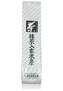 茶のたけい 自然栽培抹茶入り玄米茶 100g
