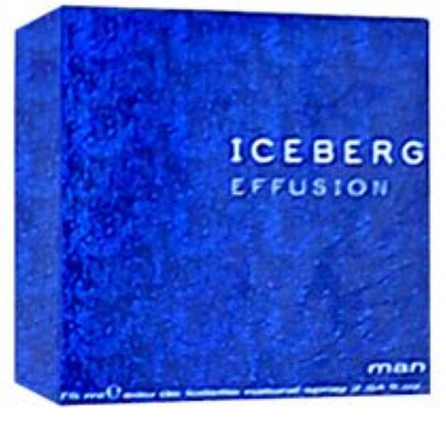 フォージ療法麻痺Iceberg Effusion (アイスバーグ エフゥージョン)  2.5 oz (75ml) EDT Spray for Men