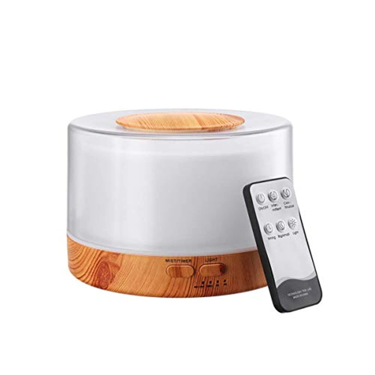 宿悪の倍率Healifty Essential Oil Diffuser Cool Mist Air Humidifier Aroma Atomizer Aromatherapy for Bedroom Office 700ml...