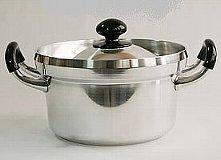 アルミ鋳物文化鍋18cm 2.3L 料理道具 CD:018022