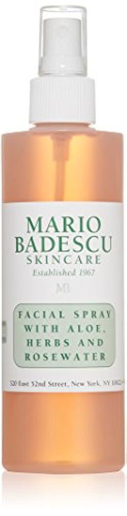 キウイ未知のムスマリオ バデスク Facial Spray with Aloe, Herbs & Rosewater - For All Skin Types 236ml/8oz並行輸入品