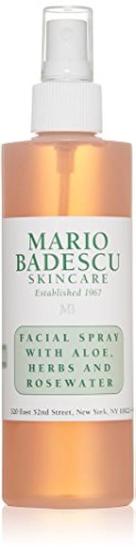 会議試すつぶやきマリオ バデスク Facial Spray with Aloe, Herbs & Rosewater - For All Skin Types 236ml/8oz並行輸入品