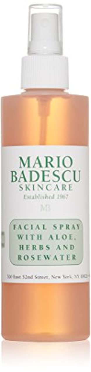 マリオ バデスク Facial Spray with Aloe, Herbs & Rosewater - For All Skin Types 236ml/8oz並行輸入品
