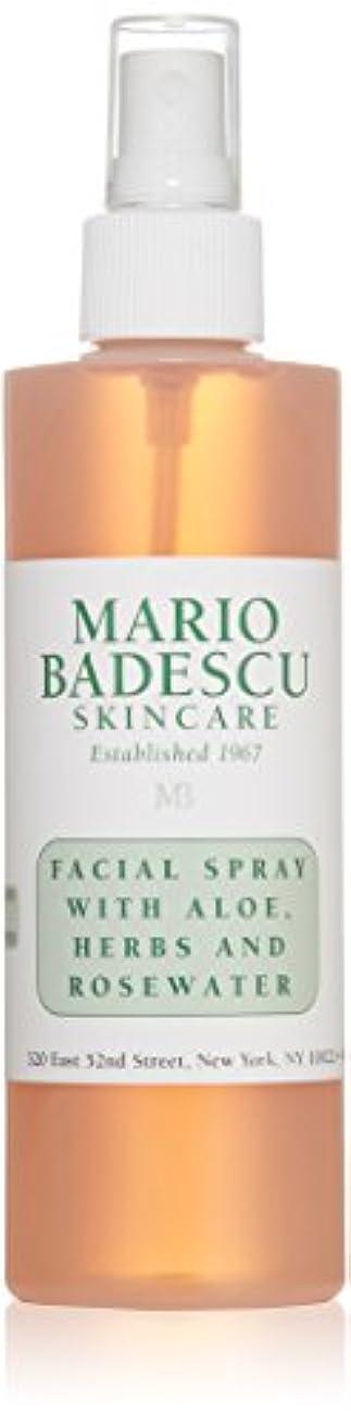 悪性昨日追い越すマリオ バデスク Facial Spray with Aloe, Herbs & Rosewater - For All Skin Types 236ml/8oz並行輸入品