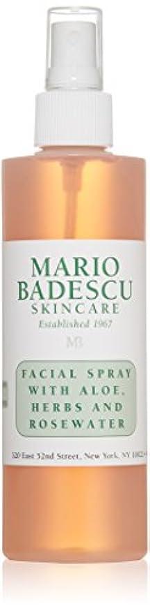 鑑定日光ボーナスマリオ バデスク Facial Spray with Aloe, Herbs & Rosewater - For All Skin Types 236ml/8oz並行輸入品