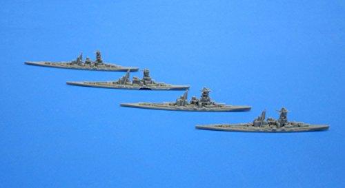フジミ模型 1/3000 集める軍艦シリーズ No.1 戦艦 金剛 比叡 榛名 霧島 / 駆逐艦 白露型 4隻セット プラモデル 軍艦1