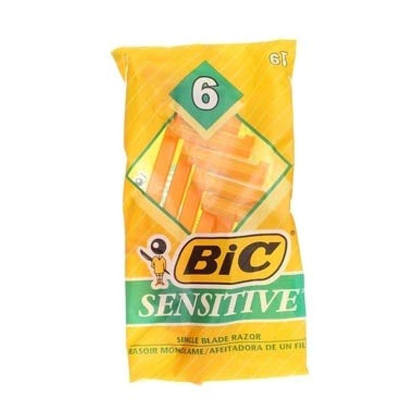 対処する申し立てる化石BIC 機密性の高い使い捨てシェーバー - 6 CT、5パック