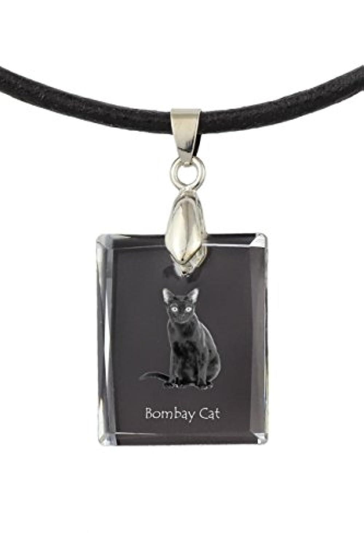 Bombay Cat、猫クリスタルネックレス、ペンダント、、優れたギフト