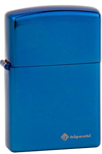 HIGASHI 改良版 ライター 電子ライター USBライター プラズマライター 充電式 説明書付 HPL-001 ブルー