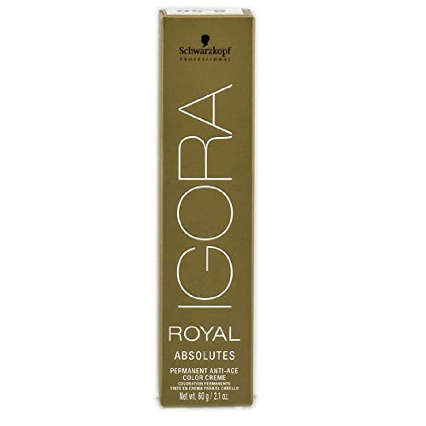 ウガンダ提案緊張Schwarzkopf プロフェッショナルIGORAロイヤルアブソリュート髪の色、 9-56、エクストラライトブロンドゴールドチョコレート