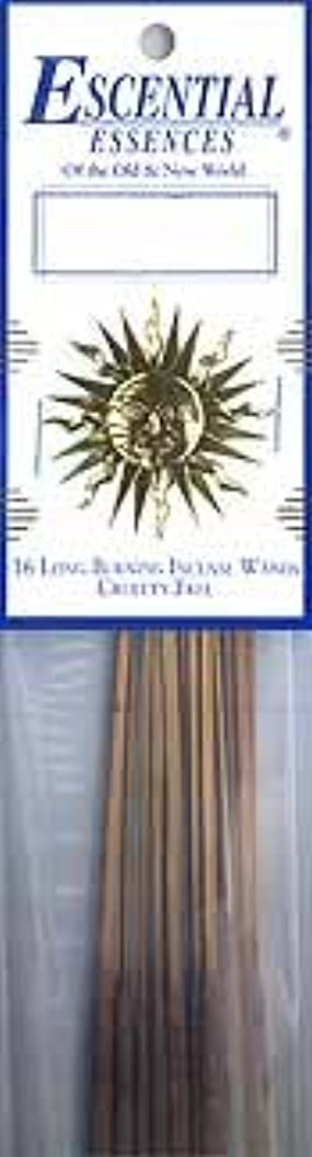 教養がある巧みな割り当てCassablanca Lily Escential Essences Incense Sticks