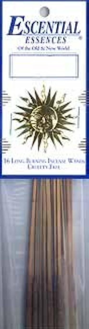 罪人時間厳守民兵Cassablanca Lily Escential Essences Incense Sticks