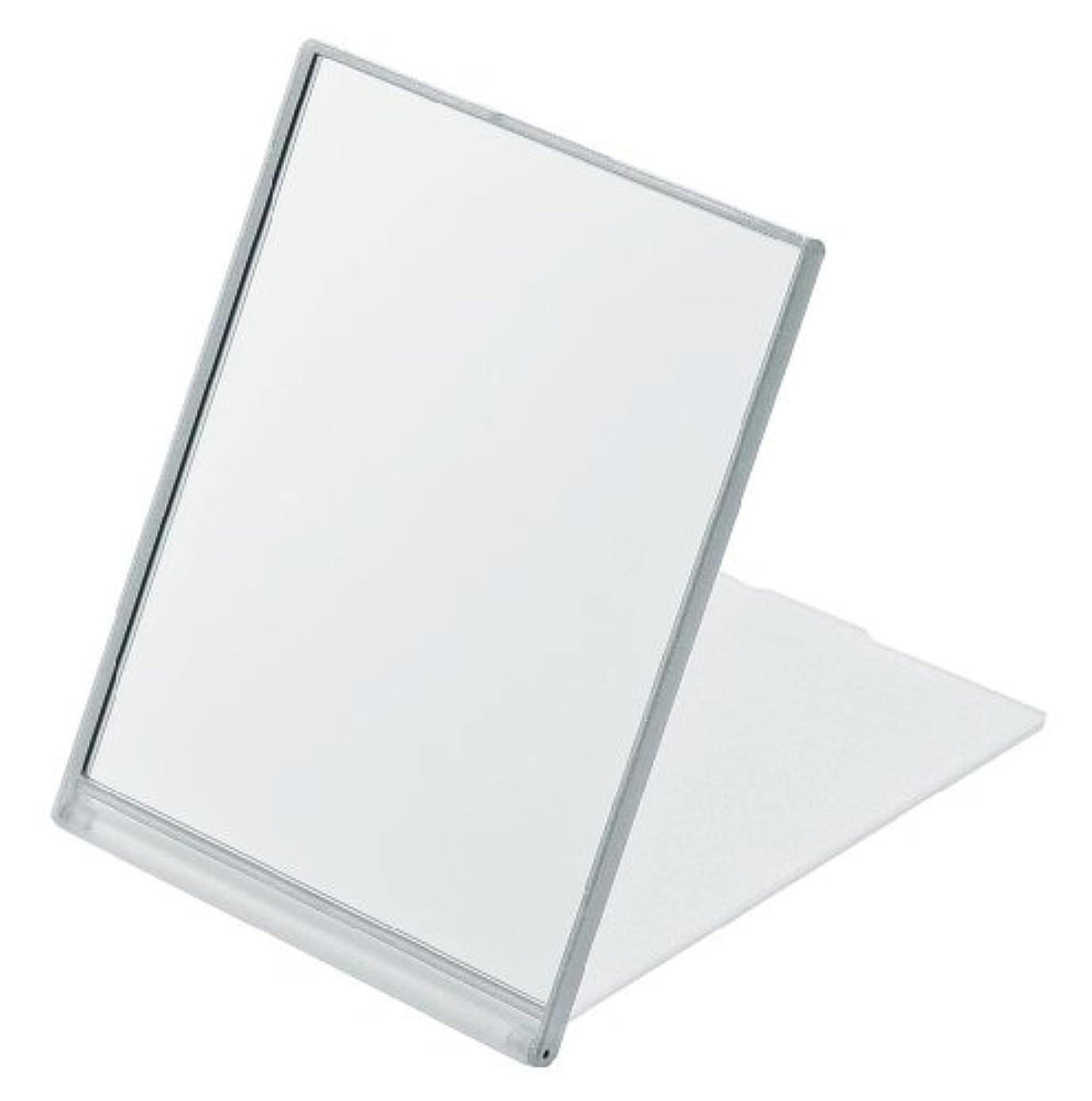 デザートキルス三番角型コンパクトミラー L ホワイト YLA-901