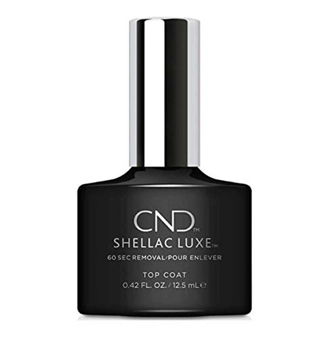 スプレー発生血色の良いCND Shellac Luxe - Top Coat - 12.5 ml / 0.42 oz