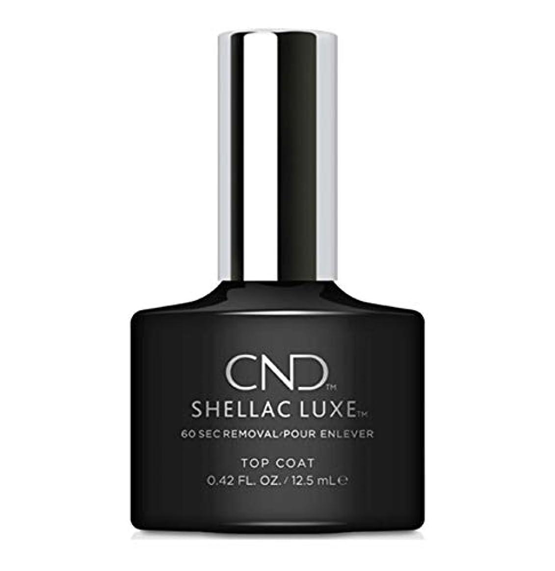 歴史家因子エスカレートCND Shellac Luxe - Top Coat - 12.5 ml / 0.42 oz