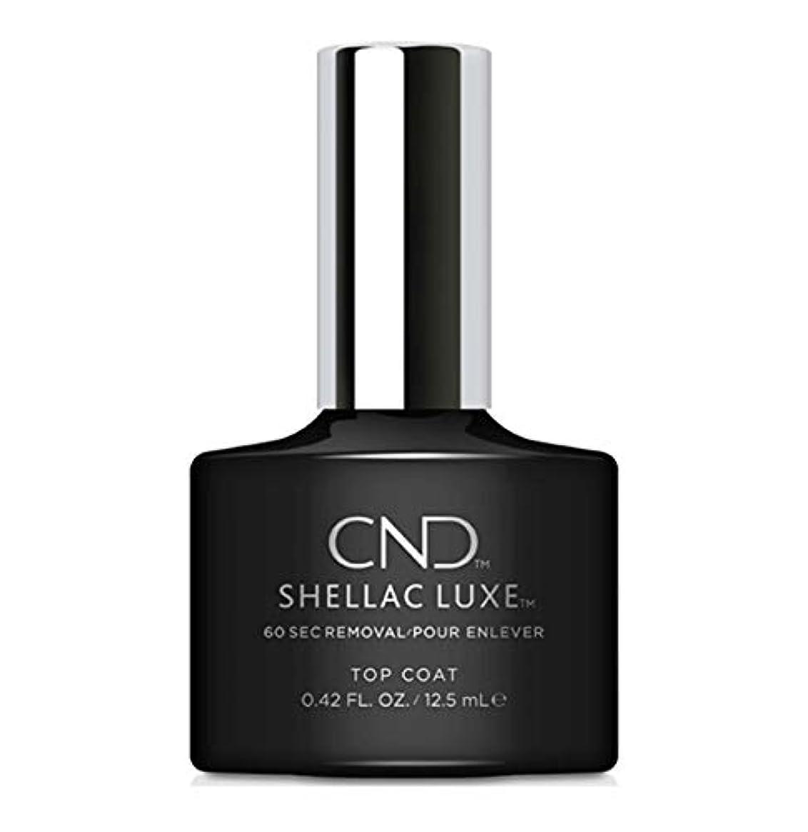 サンダースバリー勇敢なCND Shellac Luxe - Top Coat - 12.5 ml / 0.42 oz