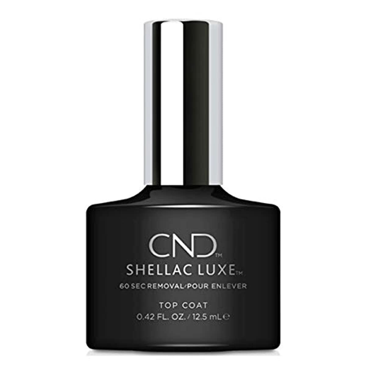 邪魔する故意のペニーCND Shellac Luxe - Top Coat - 12.5 ml / 0.42 oz