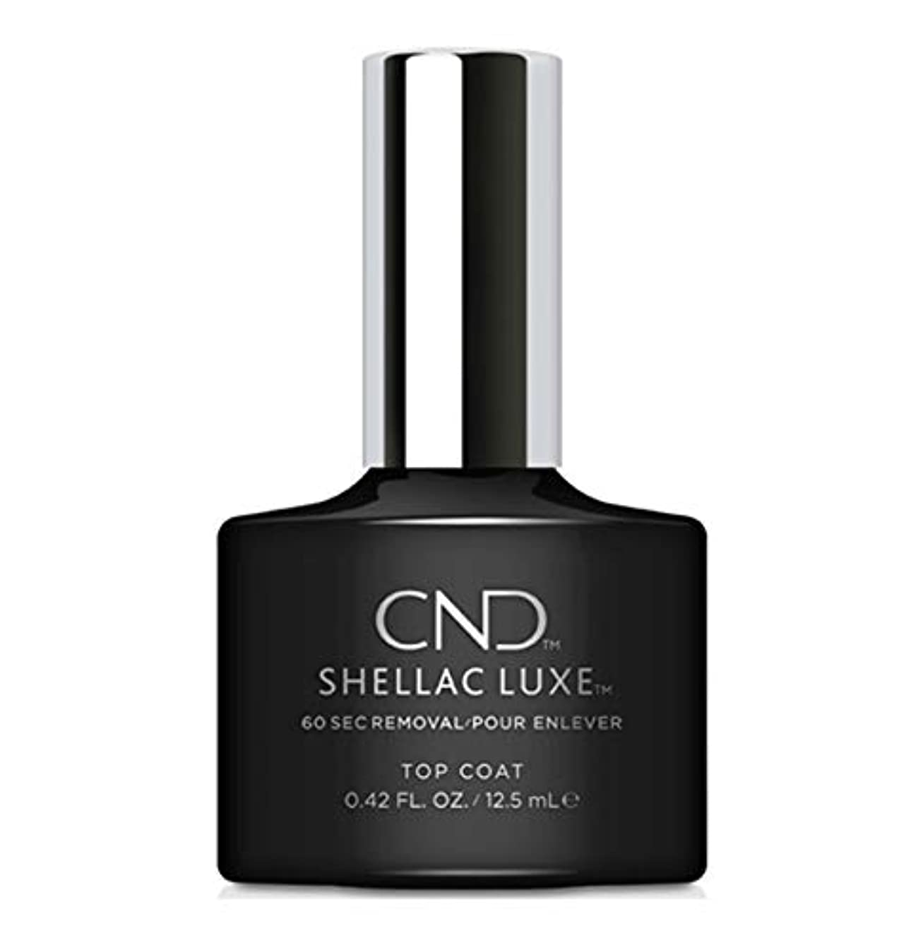 定期的に請求可能塊CND Shellac Luxe - Top Coat - 12.5 ml / 0.42 oz