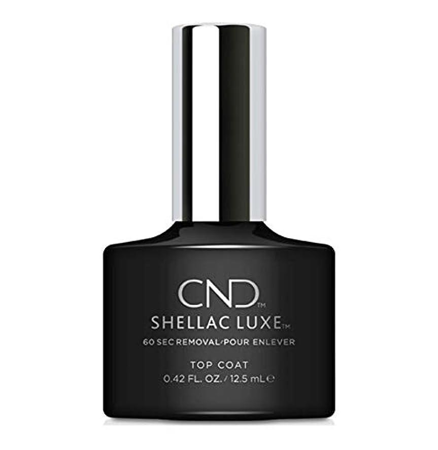 第二にシネマスポットCND Shellac Luxe - Top Coat - 12.5 ml / 0.42 oz