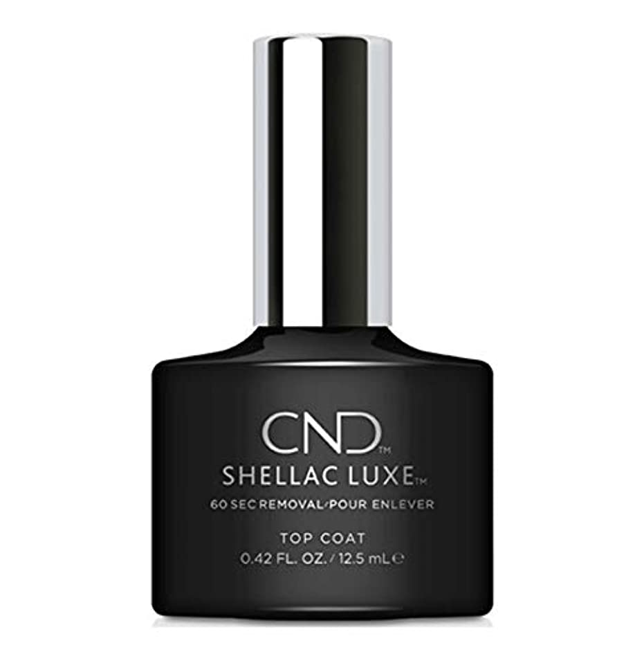論争的ポーチ異議CND Shellac Luxe - Top Coat - 12.5 ml / 0.42 oz