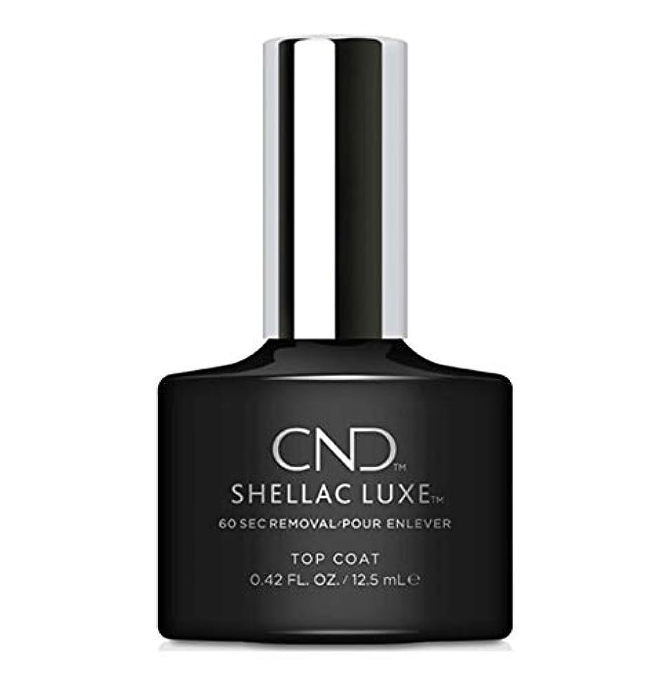 立証する成熟した仕方CND Shellac Luxe - Top Coat - 12.5 ml / 0.42 oz