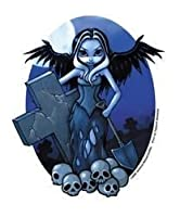 Jasmine Becket-Griffith Gothic Gravedigger Fairy By - Sticker / Decal