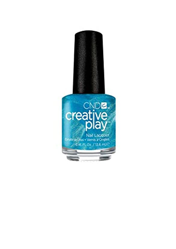 クレア傷つけるペットCND Creative Play Lacquer - Ship-Notized - 0.46oz / 13.6ml