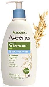 Aveeno Daily Moisturizing Lotion Sheer Hydration, 350ml