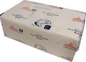 NZ産フォンテラ グラスフェッド無塩バター 1ケース(5kgx4個) 冷凍