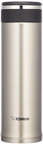 【Amazon.co.jp限定】象印 ( ZOJIRUSHI ) 水筒 直飲み ステンレスマグ 480ml ステンレスシルバー SM-JB48AZ-XA