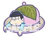 おそ松さん トレーディングラバーストラップ 和菓子ver.【一松】単品