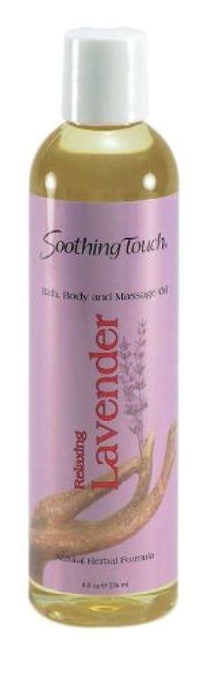 憲法壊滅的な解放するBath and Body Oil - Lavender - 8 oz by Soothing Touch