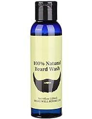 ひげのシャンプー、保湿の滑らかになること容易あらゆるひげのタイプのためのひげの清潔になるシャンプーを管理しなさい