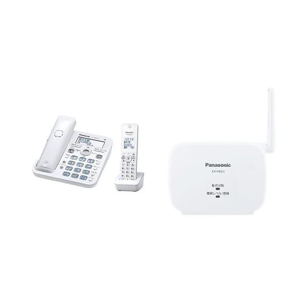 パナソニック デジタルコードレス電話機 子機1台...の商品画像