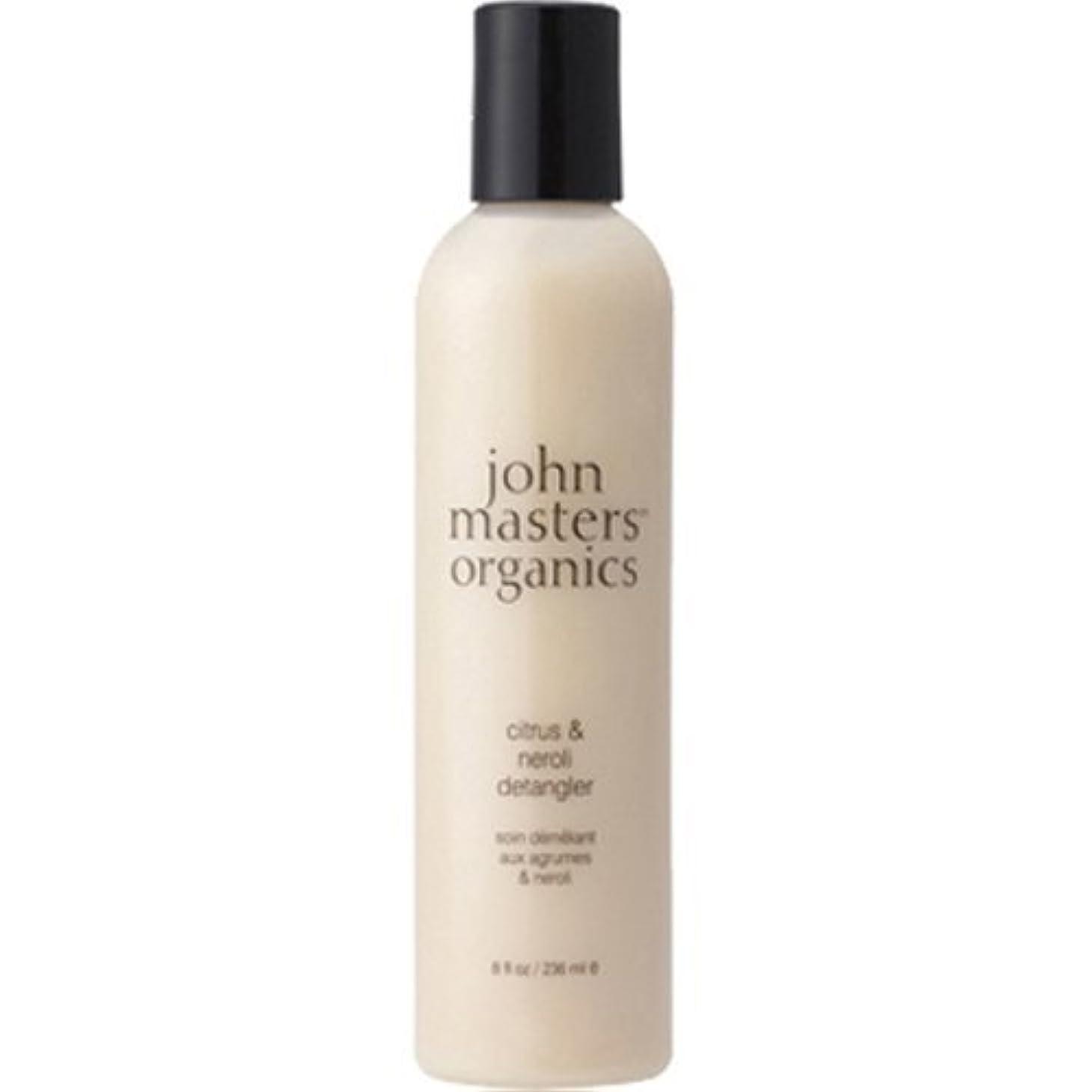 スリラーようこそ中級John Masters Organics(ジョンマスターオーガニック) C&Nデタングラー(シトラス&ネロリ) 236ml(並行輸入品)
