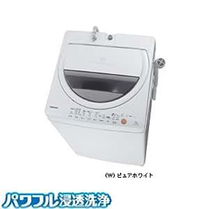 東芝 7.0kg 全自動洗濯機 ピュアホワイトTOSHIBA AW-70GL-W