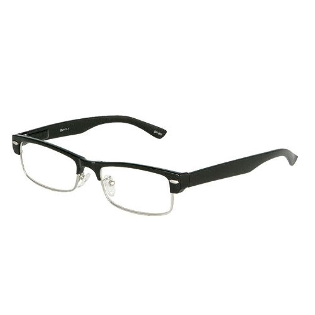 YGF50/シンプルでクールな老眼鏡 (1.0, BLACK)