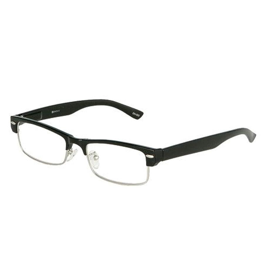 成功魔術許されるYGF50/シンプルでクールな老眼鏡 (1.0, BLACK)